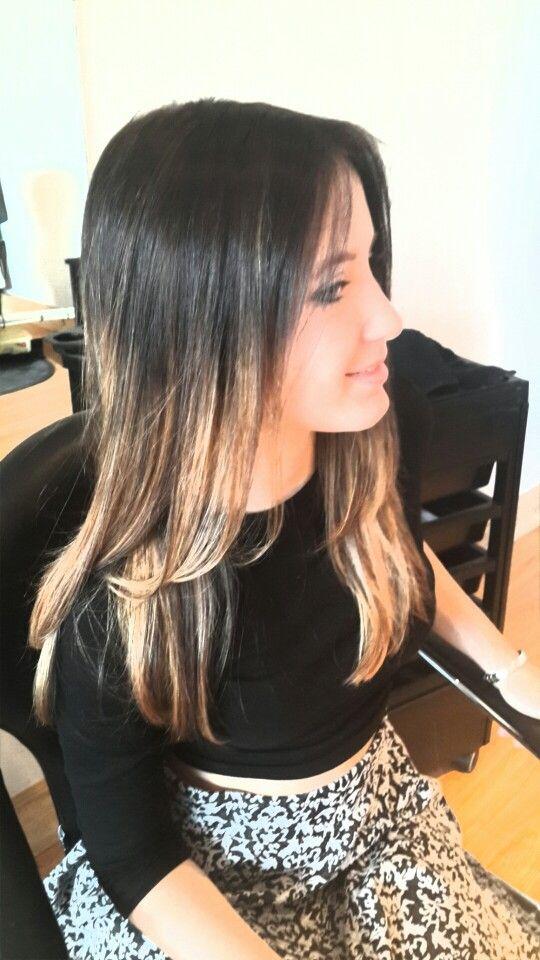Ombre Hair Short