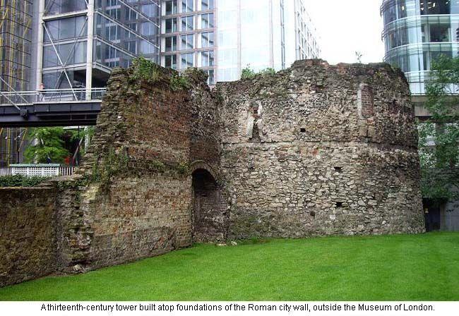 Roman Wall at Museum of London  Museum of London  Pinterest