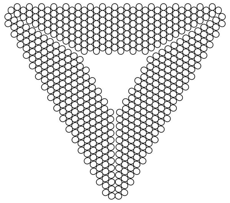 Design paper for  triangles.  #Seed #Bead #Tutorials