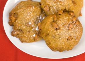 Pumpkin Cookies with Butterscotch Chips | Recipe