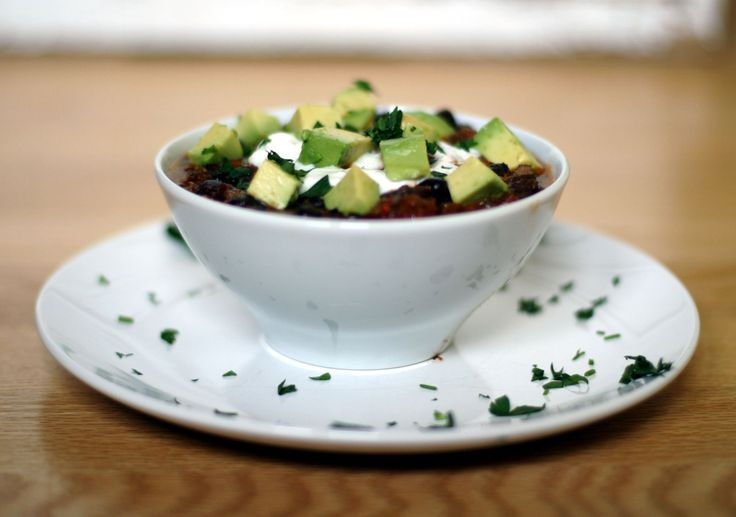 Warm, spicy black bean soup helps ease sting of cold spring