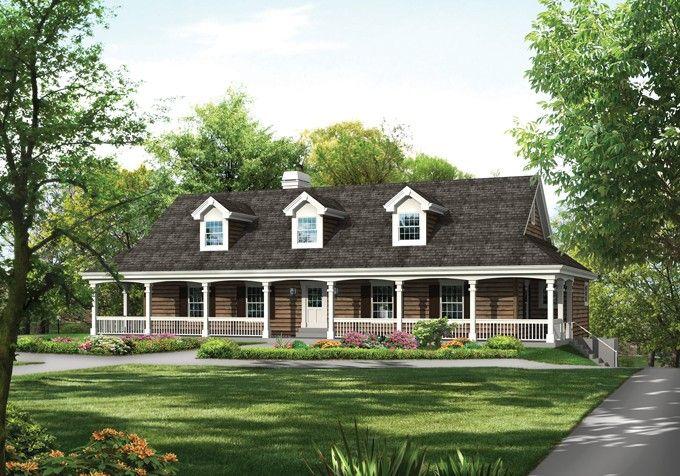 Eplans Farmhouse House Plan Floorplan Favorite Places