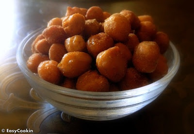 Spicy Oven Roasted Chickpeas - High Protein