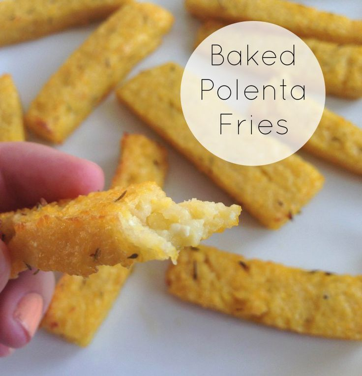 Baked Polenta Fries | Recipes & Kitchen Gear | Pinterest