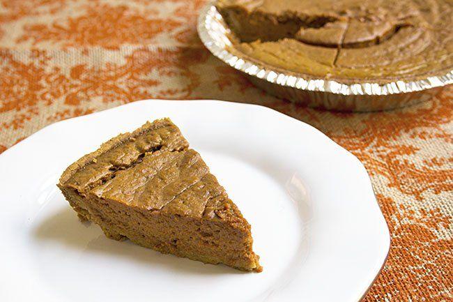Skinny Pumpkin Pie | Recipe