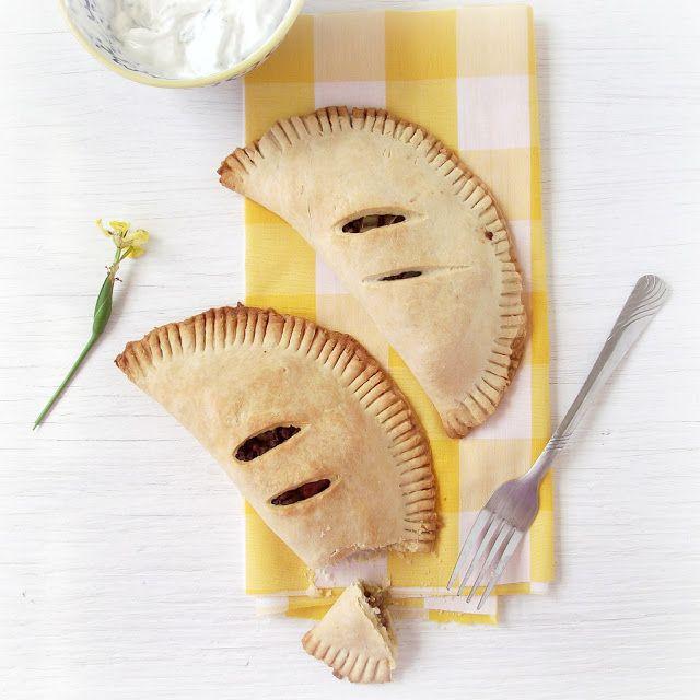 ShopCookMake.com: Baked Spicy Beef Empanadas with Cilantro Cream
