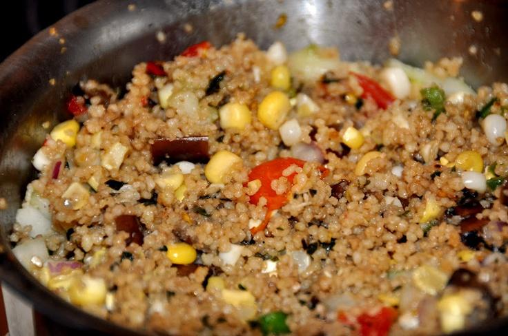 Thai Basil Pesto Couscous | Recent Recipes | Pinterest
