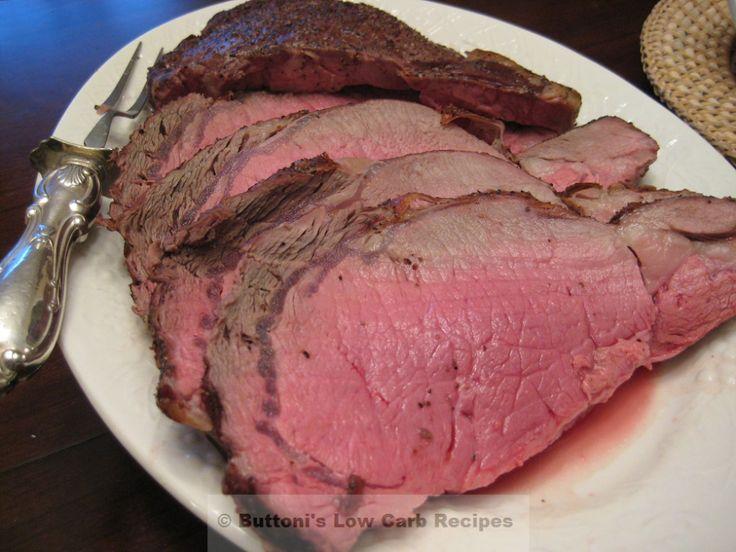 Perfect rib roast | Atkins friendly | Pinterest