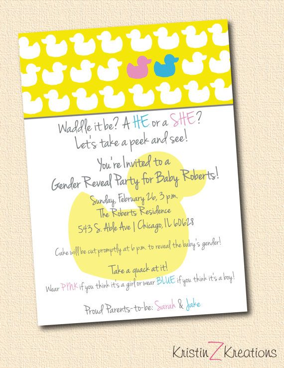 Gender Reveal Party Invitation Wording is the best ideas you have to choose for invitation example