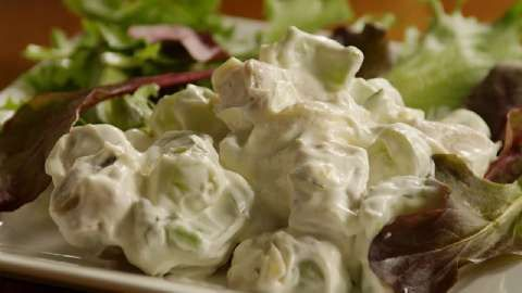 Creamy Chicken Salad with Green Grapes from Becky's Chicken Salad ...
