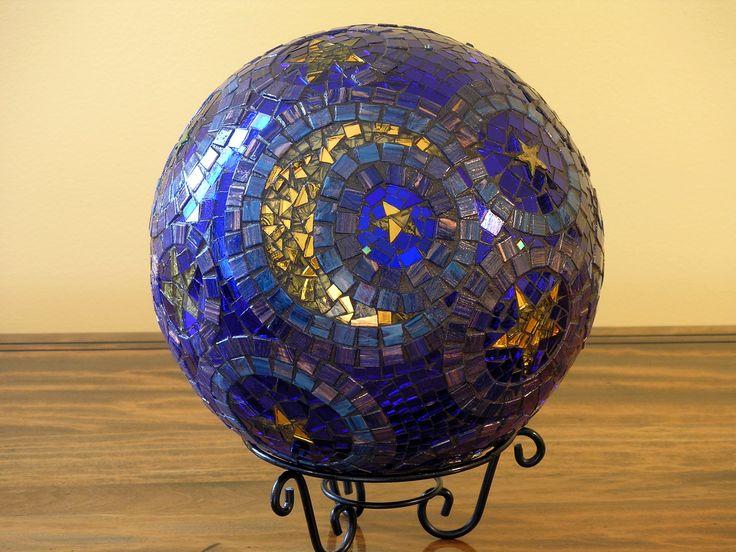 MOSAIC GAZING BALL | Mosaic Gazing Balls | Pinterest