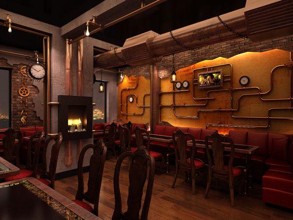 Steampunk restaurant steampunk room ideas pinterest - Steampunk room ideas ...