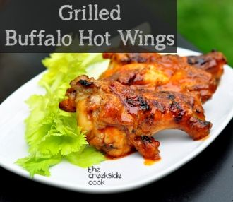 buffalo hot wings are easy and lower in calories than deep fried wings ...