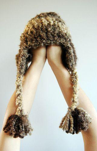 Crochet Earflap Hat : Crochet Ear Flap Hat Crochet - Hats Pinterest
