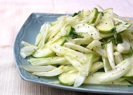 Apple and Fennel Salad | Vegan Everything ! | Pinterest