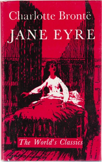 My new copy of Jane Eyre from Honey and Wax Books (my sister's rare book shop.  Go ahead, check it out!  http://www.honeyandwaxbooks.com/)