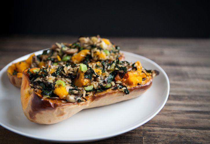 Butternut Squash And Kale Quinoa Stuffing Recipes — Dishmaps