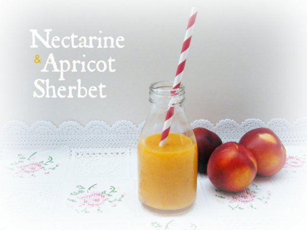 Nectarine and Apricot Sherbet Smoothie | Food for babies, toddlers and ...