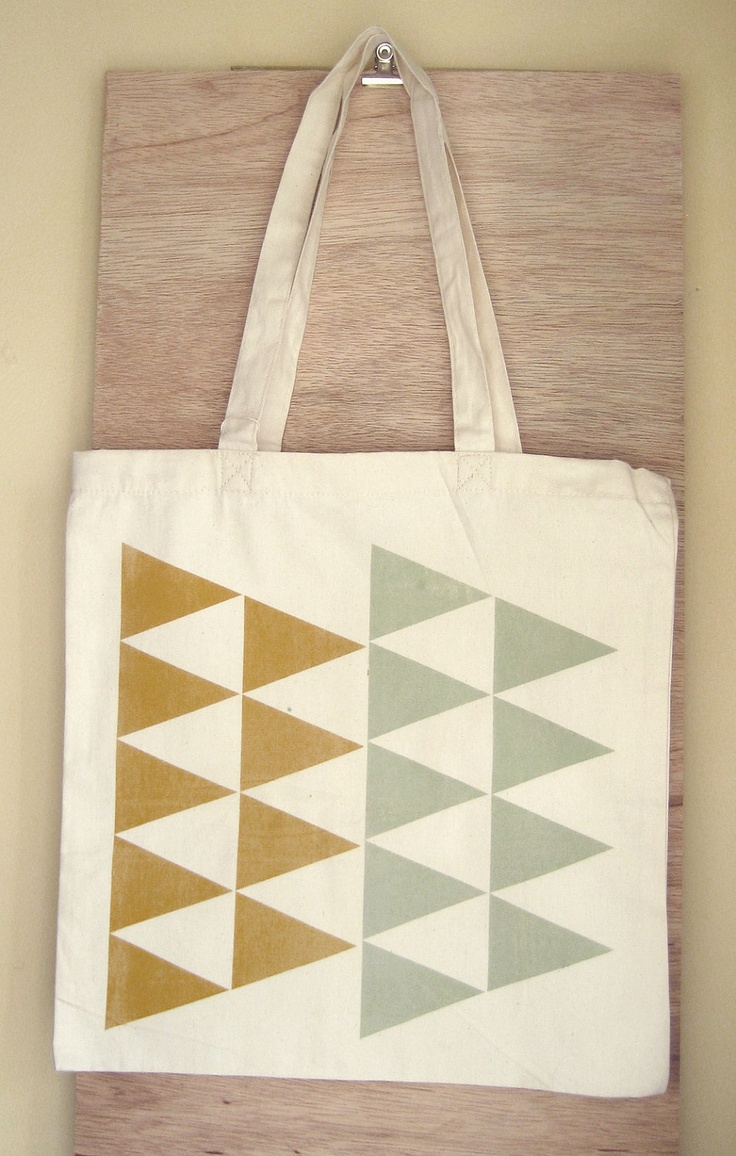 Color Theory Screenprinted Tote