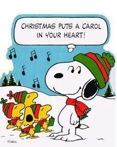 Christmas Carol | Snoopy art | Pinterest