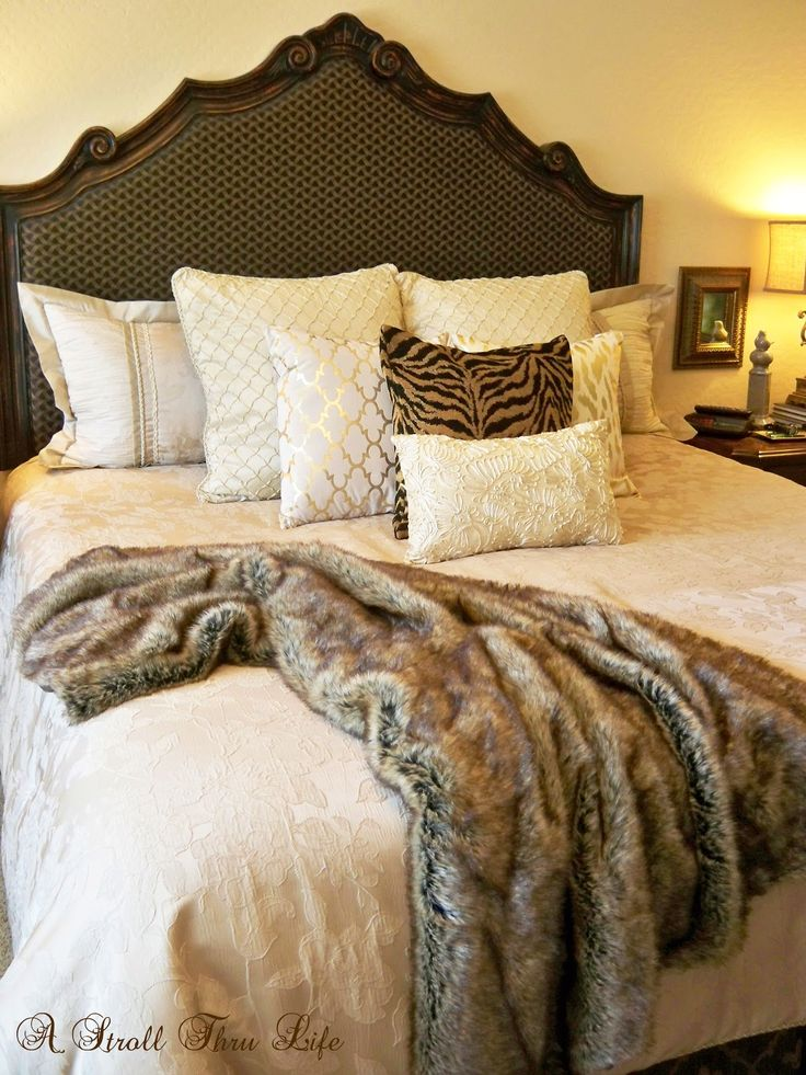 Warm and cozy fall master bedroom dreamy bedrooms pinterest