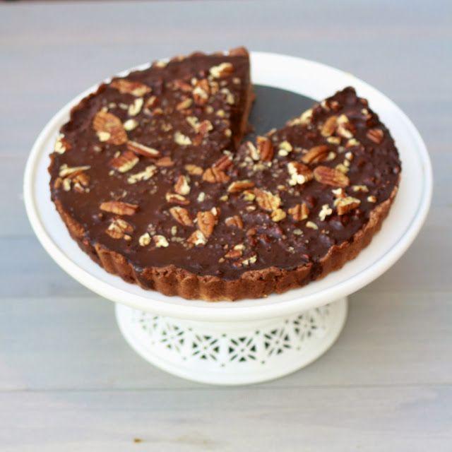Chocolate Pecan Tart   Baking   Pinterest
