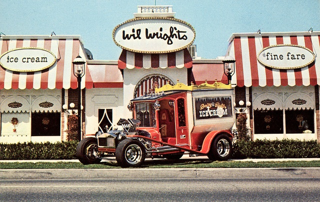 Daisy Bell Ice Cream Truck, by George Barris