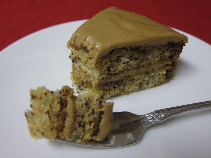Banana Caramel Cake | Yum yum | Pinterest