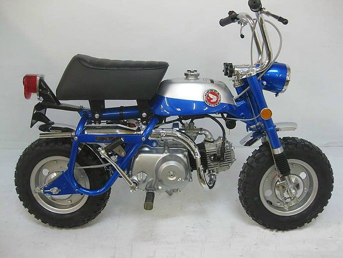 1969 Honda Z50a Mini Trail Wheels And Winds Pinterest
