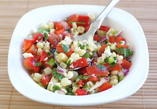 Sweet Corn Salad Recipe | Gourmet Guru | Pinterest