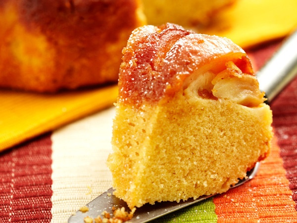 Caramel apple upside down cake | Recipes: Cakes, Cupcakes - Less Fan ...