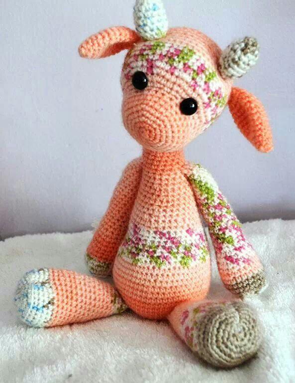 Crochet giraffe Creative Pinterest