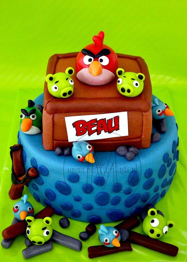 Angry Birds cake — Birthday Cakes
