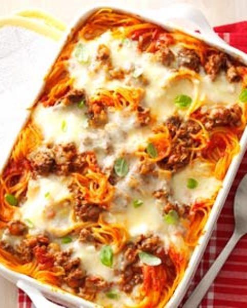 Baked Spaghetti.   Favorite Recipes   Pinterest