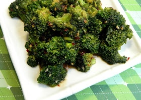 The Salty Kitchen: Broccoli with Spicy Garlic Sauce