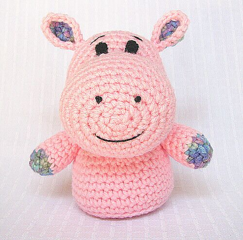 Shasta the Hippo: free pattern Stuffed: Crocheted or ...