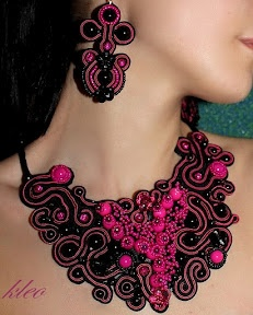 Sutasz Kleo: Soutache jewelry. Wow. Wow. Wow. You have got to see all of this!