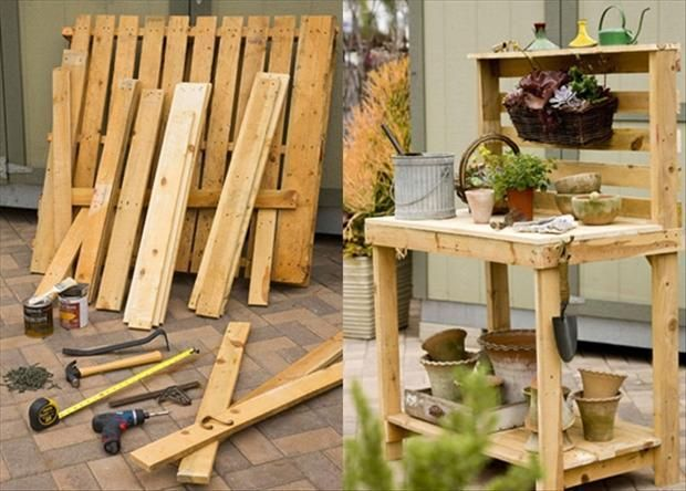 Amazing uses for old pallets 35 pics tuin pinterest