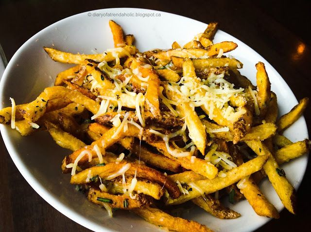 Parmesan rosemary fries | Potato Obsession | Pinterest