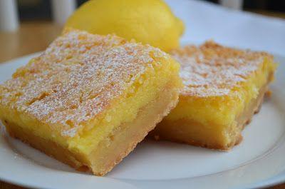 Whole Lemon Bars | In the Kitchen: Lemon Love | Pinterest