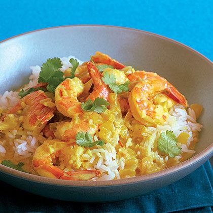 Indian Coconut Shrimp Curry Recipe