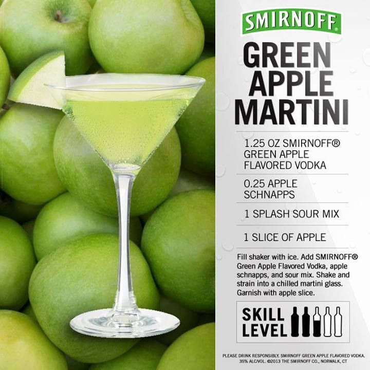 "Green Apple Martini www.LiquorList.com ""The Marketplace for Adults ..."