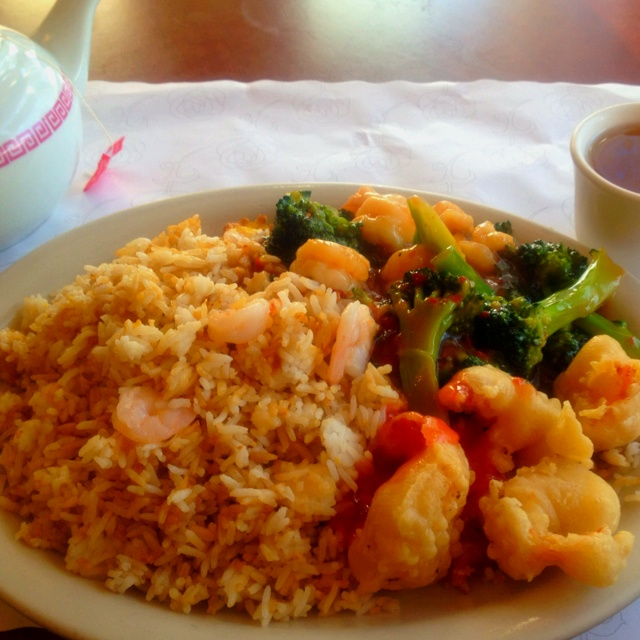 Shrimp, Broccoli And Scallion Fried Rice Recipes — Dishmaps