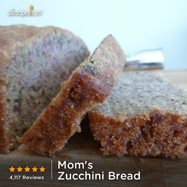 minutes | Mom's Zucchini Bread | Repin to use up your extra zucchini ...