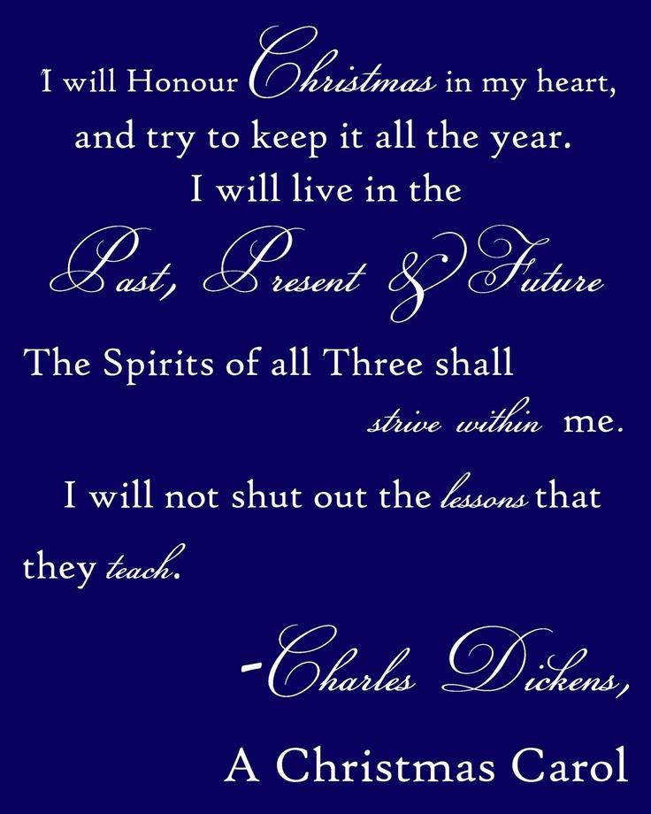 Christmas Carol Quotes Dickens. QuotesGram