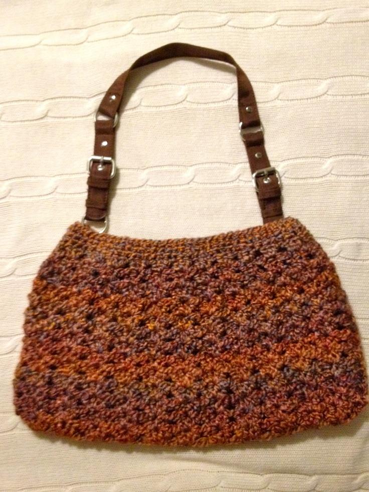 Nordstrom Crochet Hobo Bag Pattern : Nordstrom Crochet Hobo Bag Lion Brand Homespun in ...