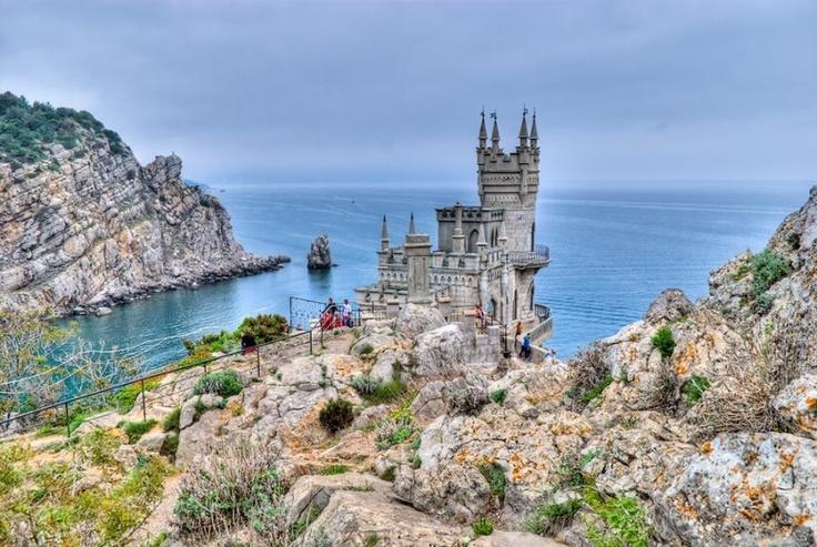 Swallows Nest Castle, Crimea. Ukraine | Places to See ...