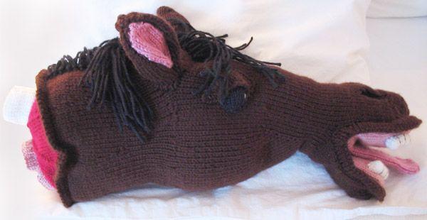 Crochet Horse Head Godfather