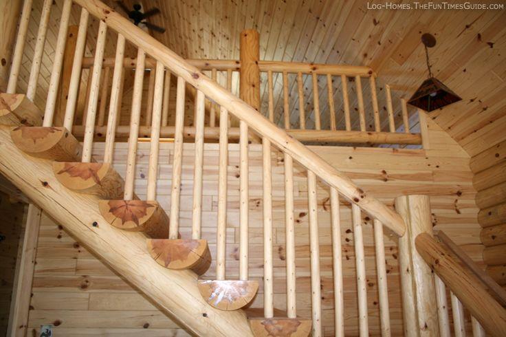 Best Log Railing Cabin Ideas Pinterest 400 x 300