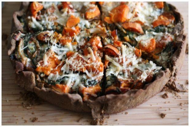 Sara Forte's Buckwheat Harvest Tart + The Sprouted Kitchen Cookbook